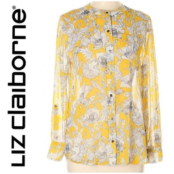 Liz Claiborne Tops - Liz Claiborne Floral Blouse